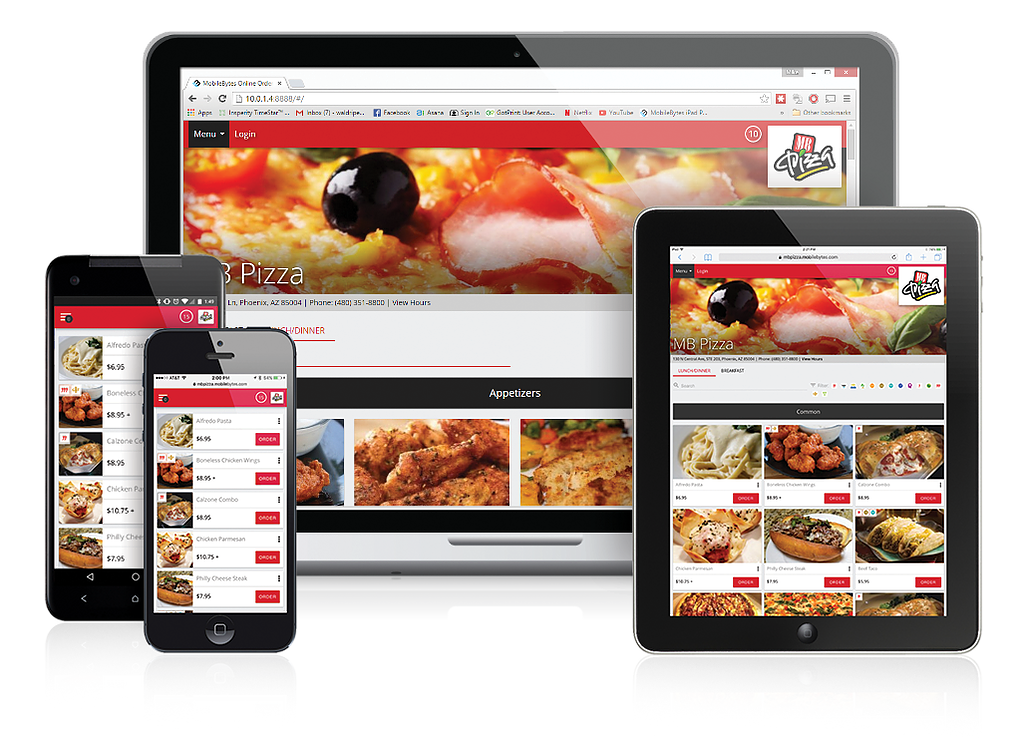 Online Ordering With MobileBytes