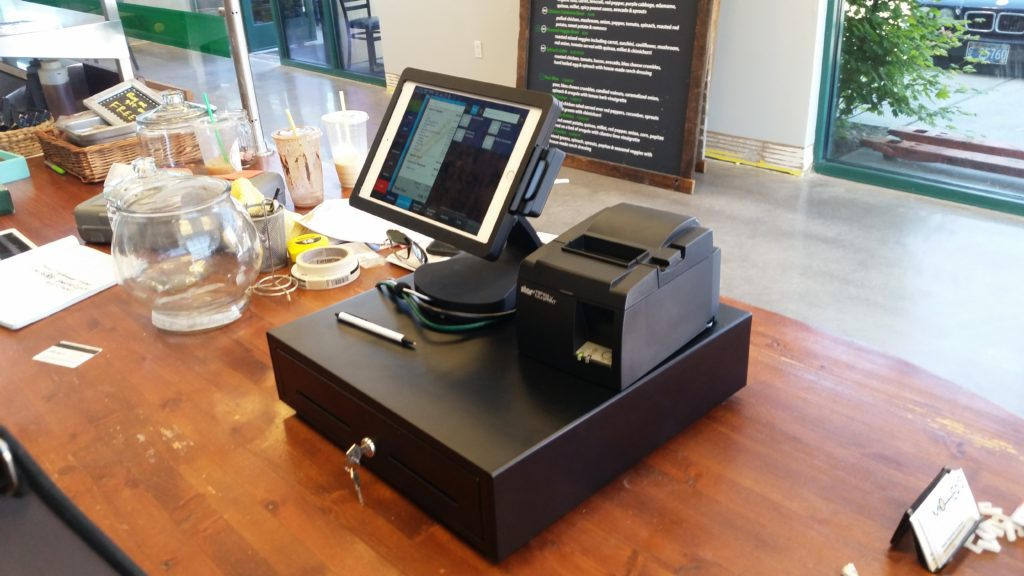 Cloud point of sale on the counter